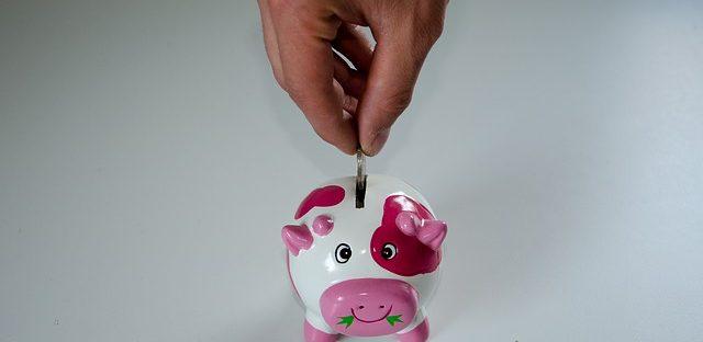 Różowa świnka skarbonka